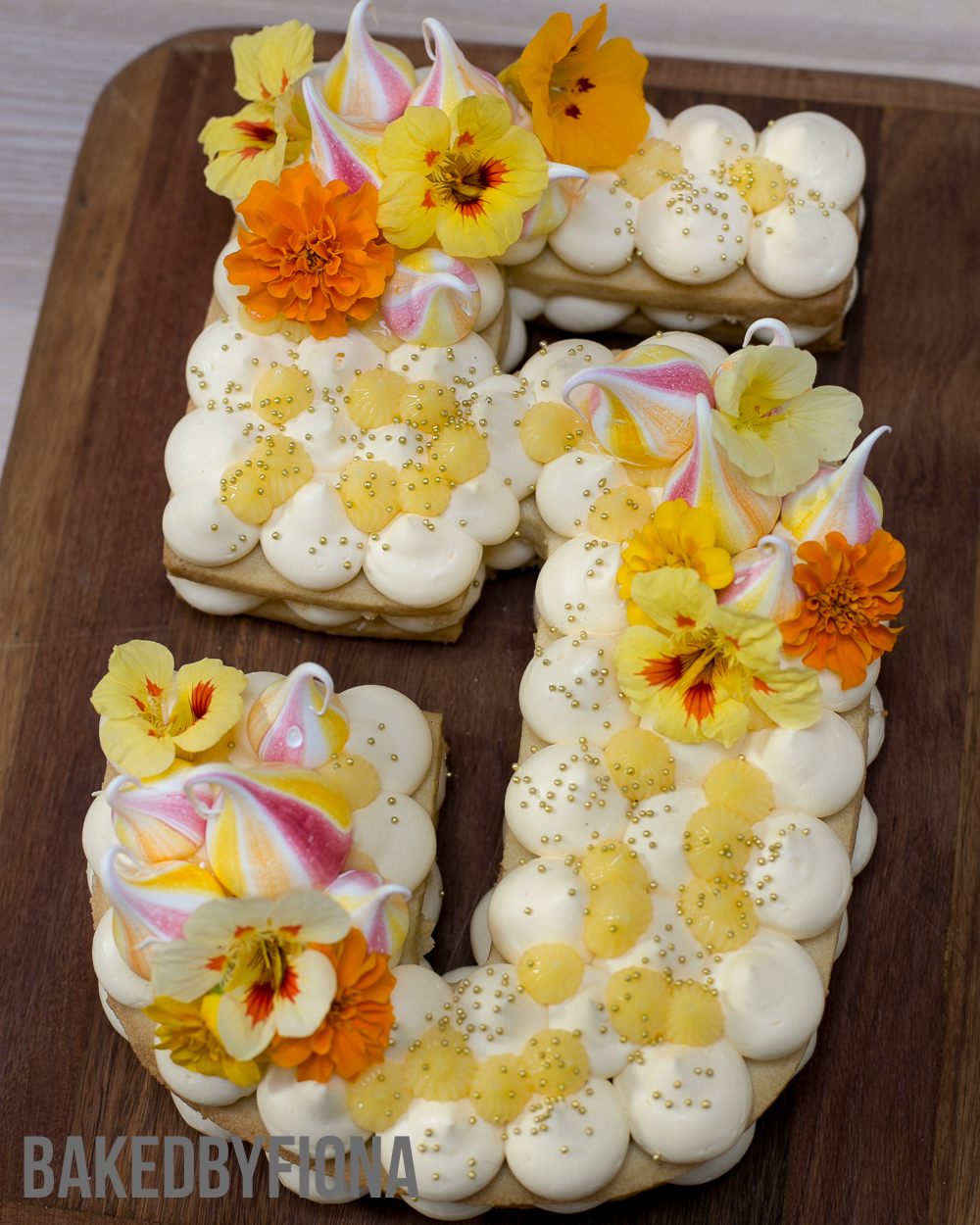 Sydney Cakes BakedByFiona biscuit cake