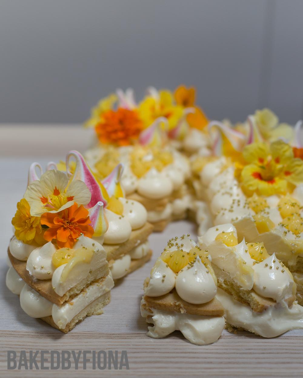 Sydney Cakes BakedByFiona custom biscuit cake
