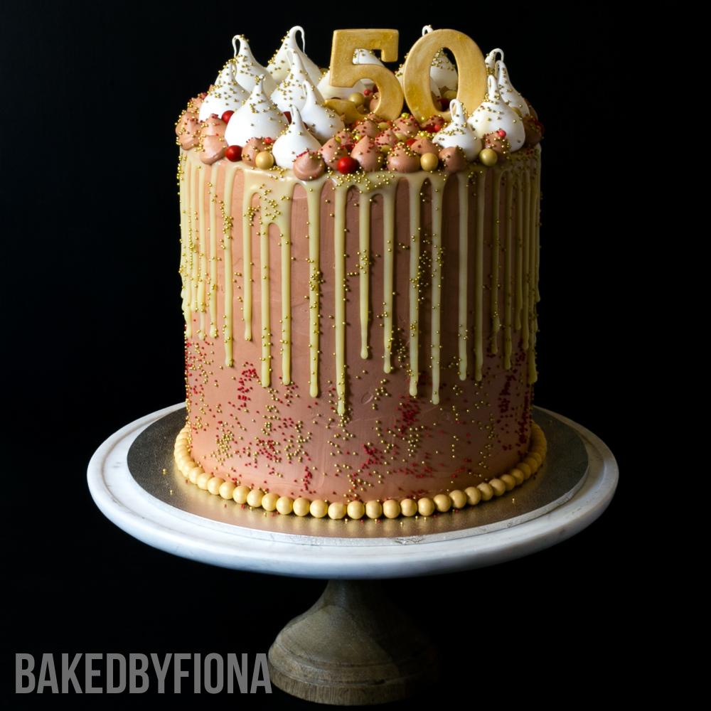 Pink Birthday Cake Images