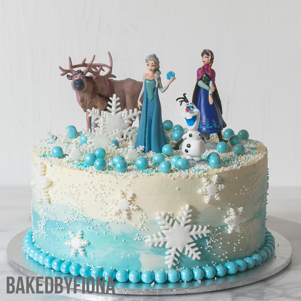 Frozen Butter Icing Cake