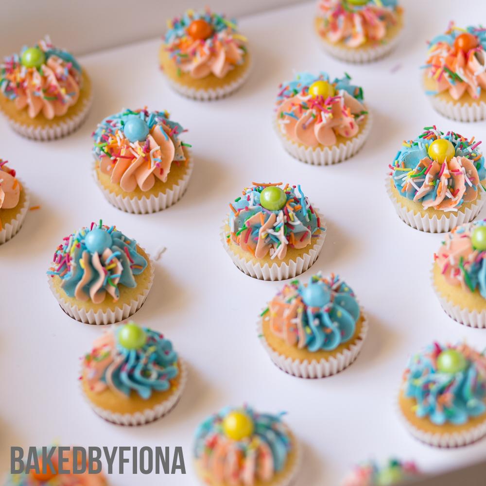 Sydney Cakes, Baked by Fiona Sallys mini cupcakes