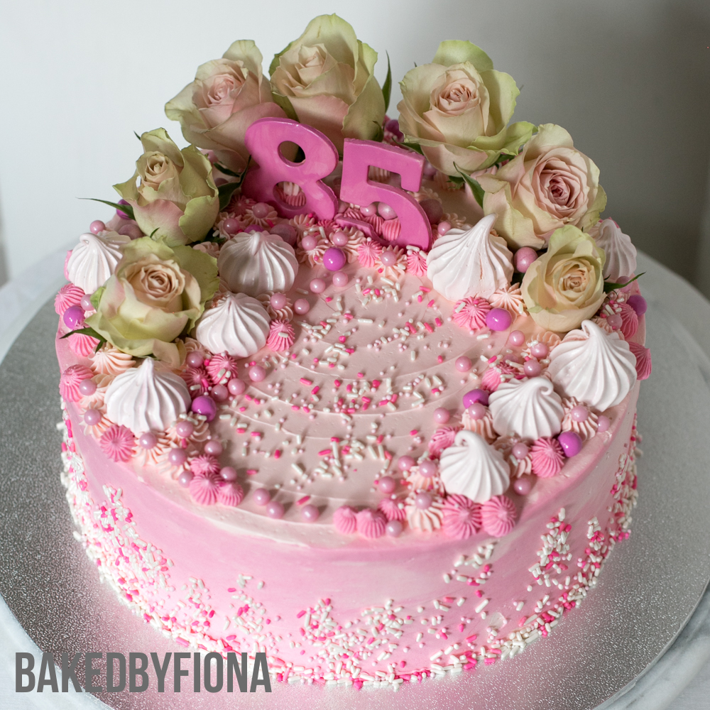 Sydney Cakes, Baked by Fiona 10 inch flower cake