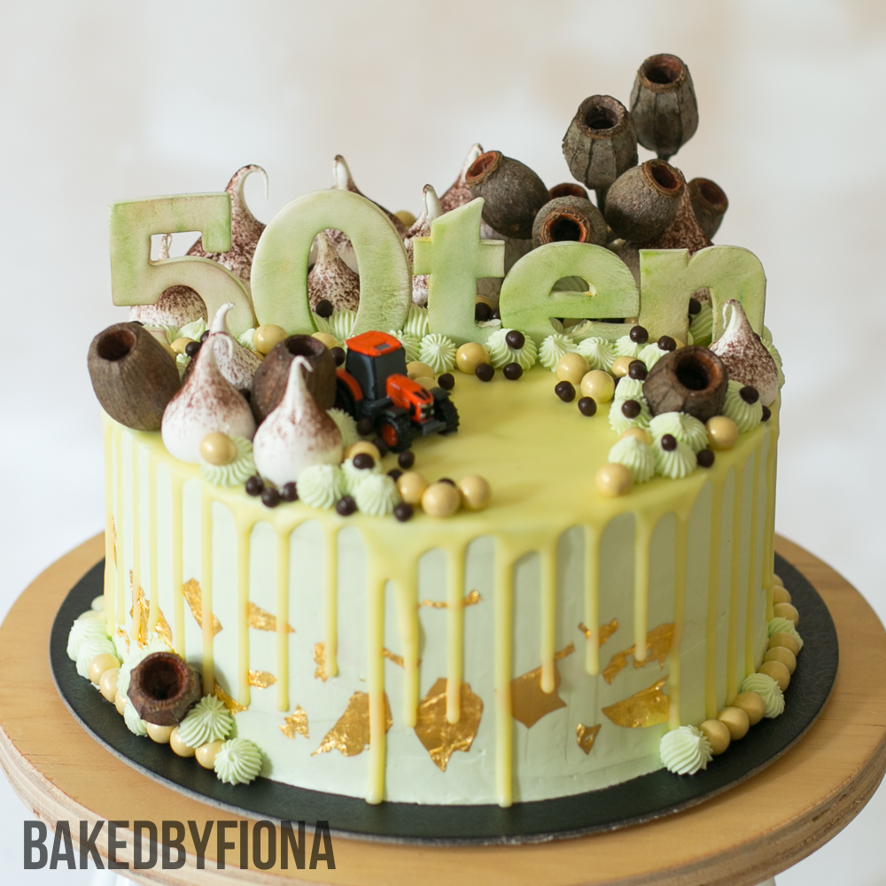 Sydney Cakes, Baked by Fiona 8 inch bush cake