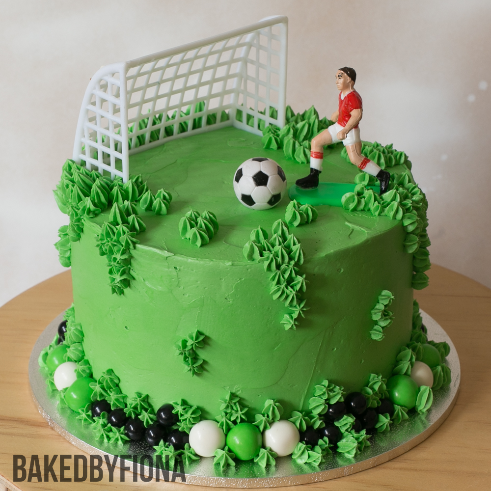 Sydney Cakes, Baked by Fiona 6 inch soccer cake