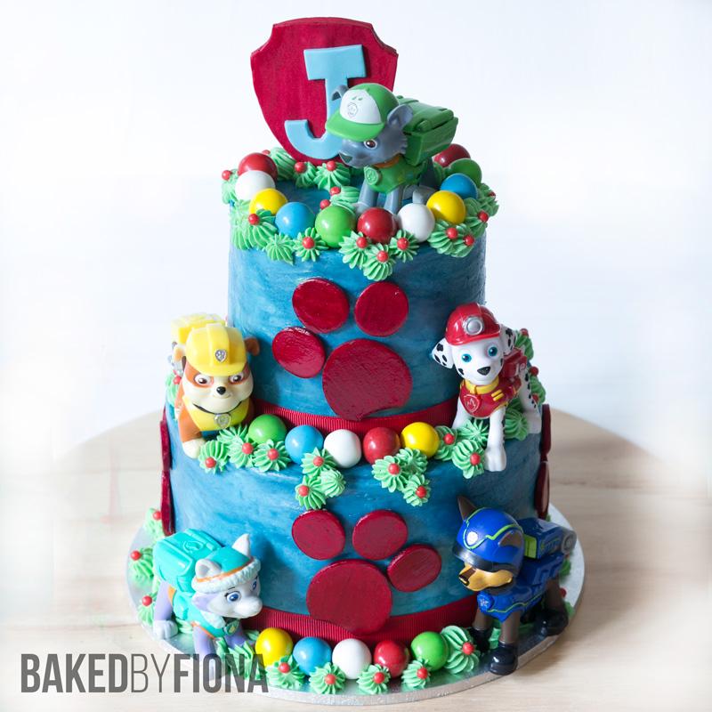 Sydney Cakes, Baked by Fiona Paw Patrol birthday cake
