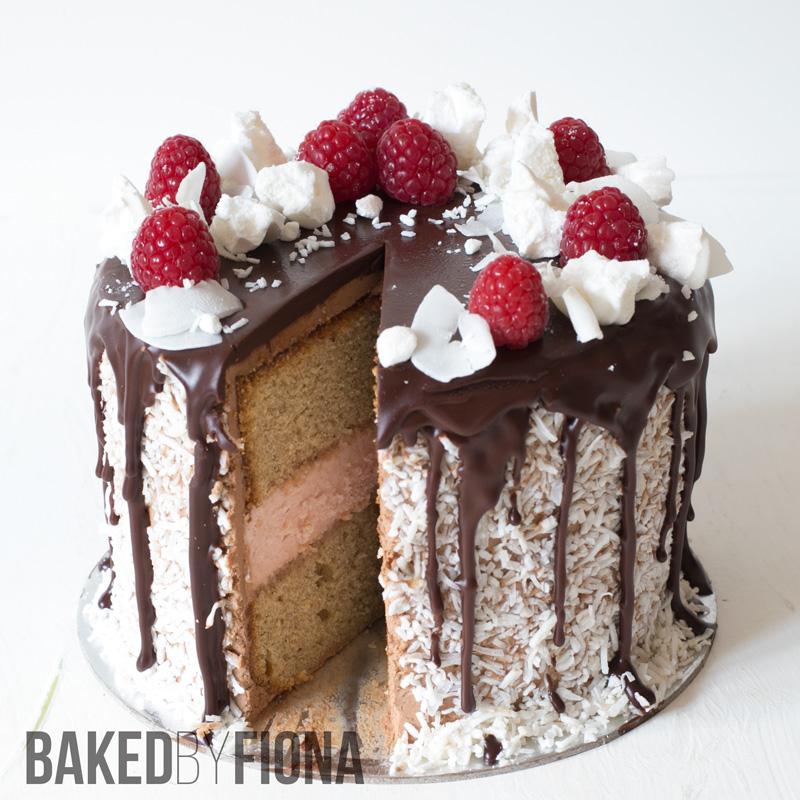 Sydney Cakes, Baked by Fiona lamington cake