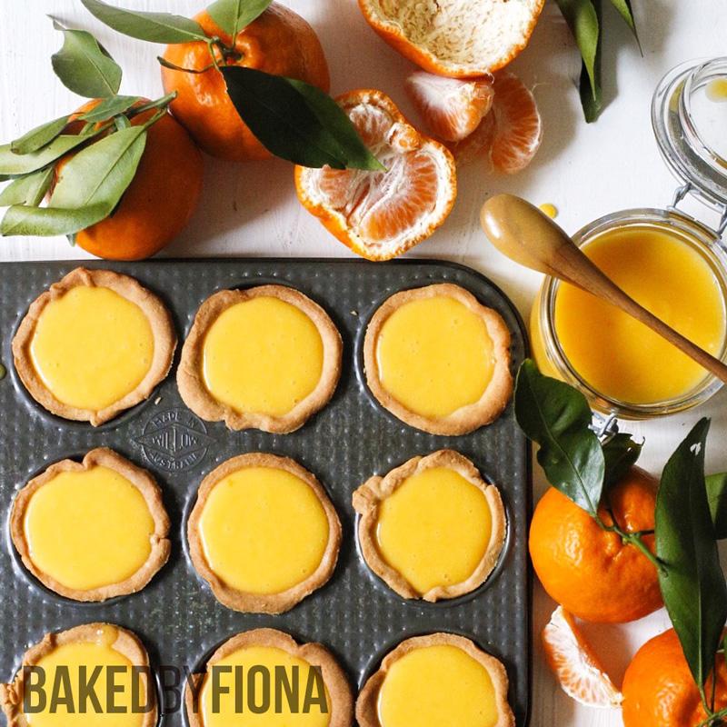 Sydney Cakes, Baked by Fiona mandarin mini tarts