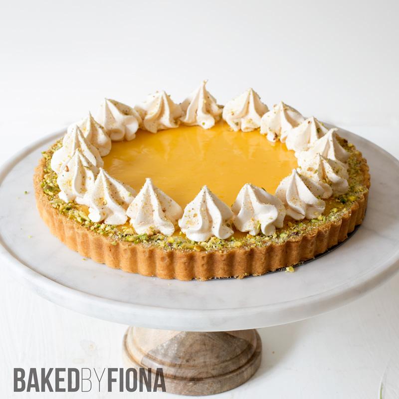 Sydney Cakes, Baked by Fiona lemon curd tart