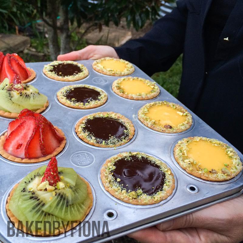 Sydney Cakes, Baked by Fiona mini tarts