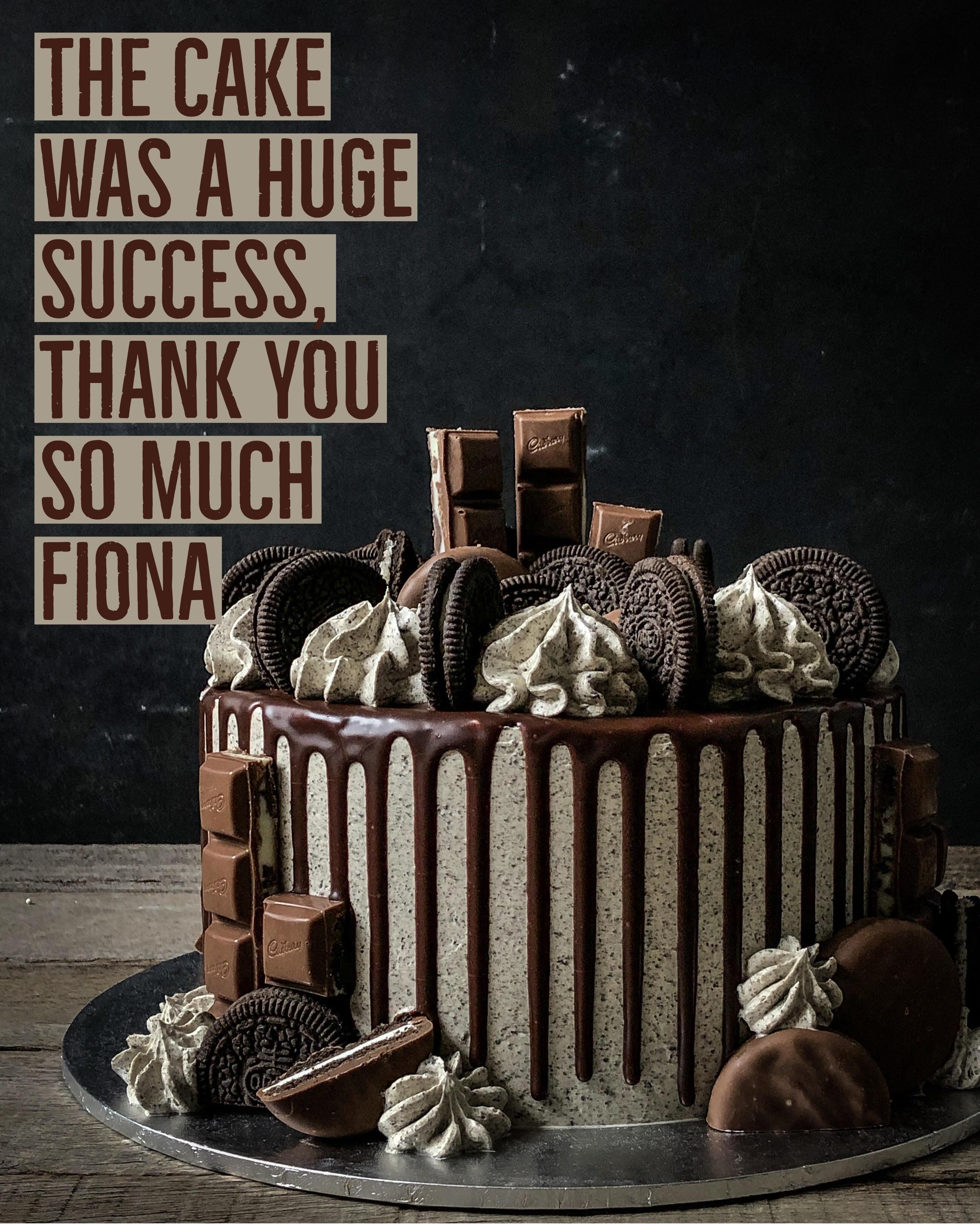 Sydney Cakes, Baked By Fiona Oreo explosion cake